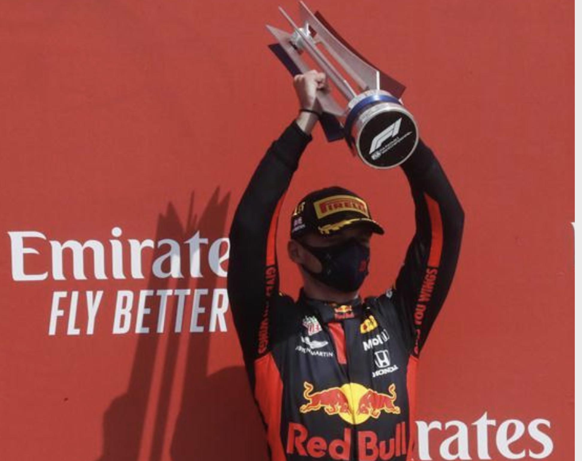 第 2 期 F1 70 周年大奖赛,维斯塔潘获得 2020 赛季首场胜利
